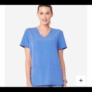 Figs womens scrubs. Size XS. Ceil blue